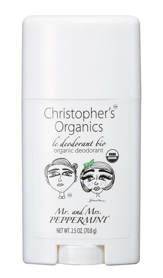 Image of MR. AND MRS. PEPPERMINT ORGANIC DEODORANT