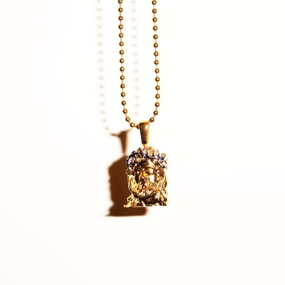 Image of Micro Jesus Pendant