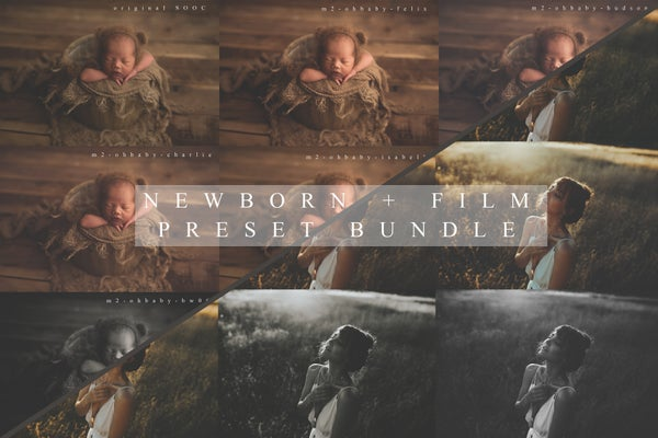 Image of Bundle: 'Oh Baby' & 'Film Inspire[d]' - Lightroom and ACR Preset Packs