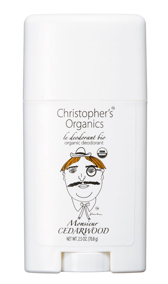 Image of MONSIEUR CEDARWOOD ORGANIC DEODORANT