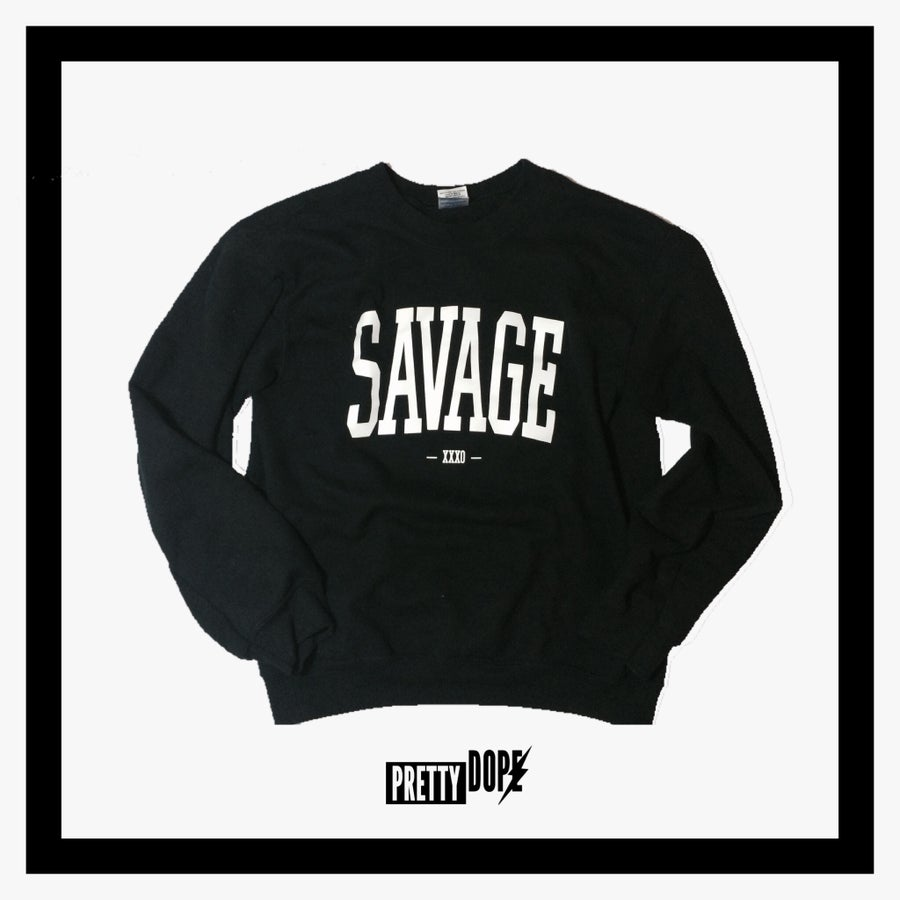 Image of SAVAGE CREWNECK