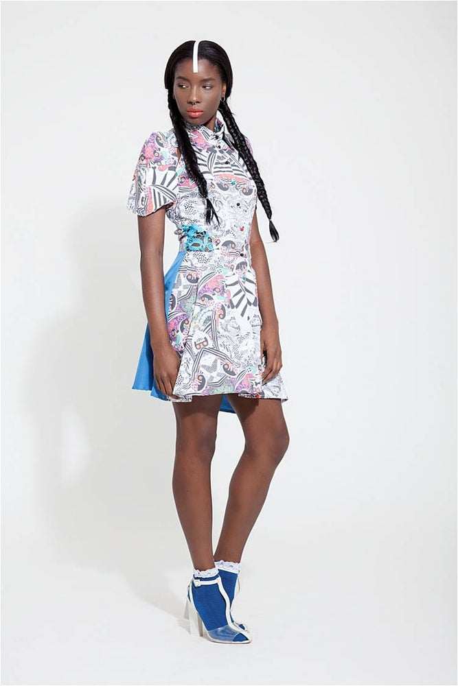 Image of The KIPEPEO Luxe Mini Dress