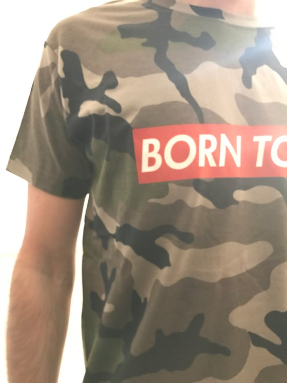 Image of Born To Dub: T-Shirt Camo