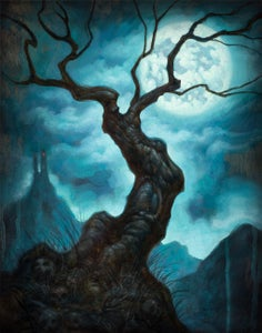 """Image of """"Tree Of Death""""- Canvas Giclee 11x14"""""""