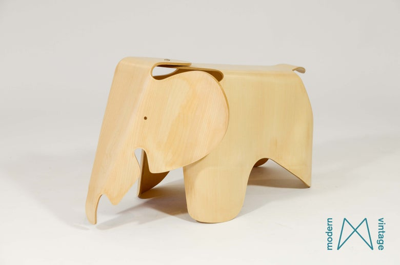 Image of Eames Elephant Vitra 2007 limited edition Maple