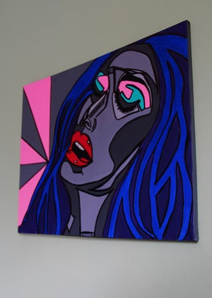 Image of X-Rated - Original Painting By Charlotte Farhan