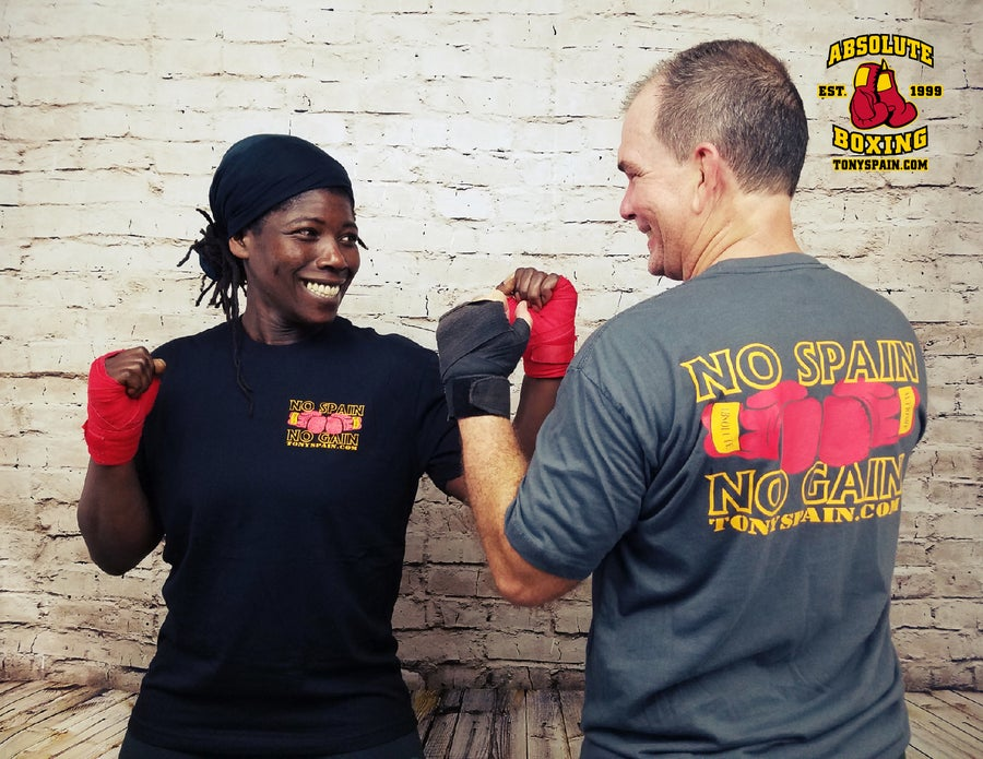Image of No Spain, No Gain T-shirt (Black or Heavy Metal)