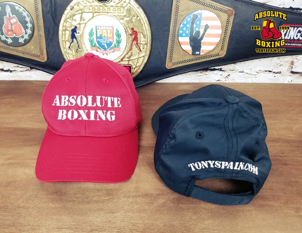 Image of Absolute Boxing Hat (Deep Red or Black)