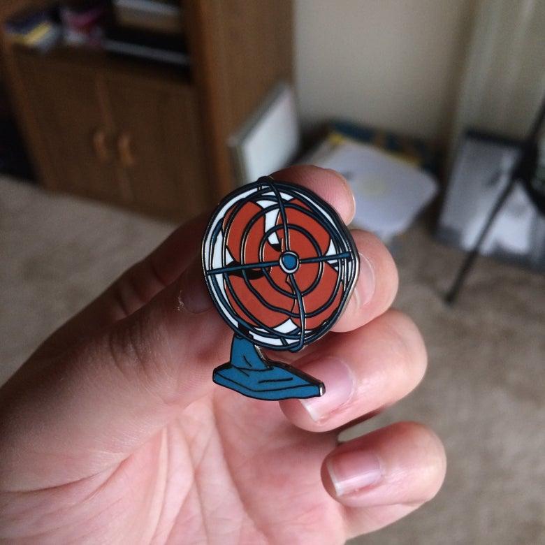 Image of Fan Enamel Pin