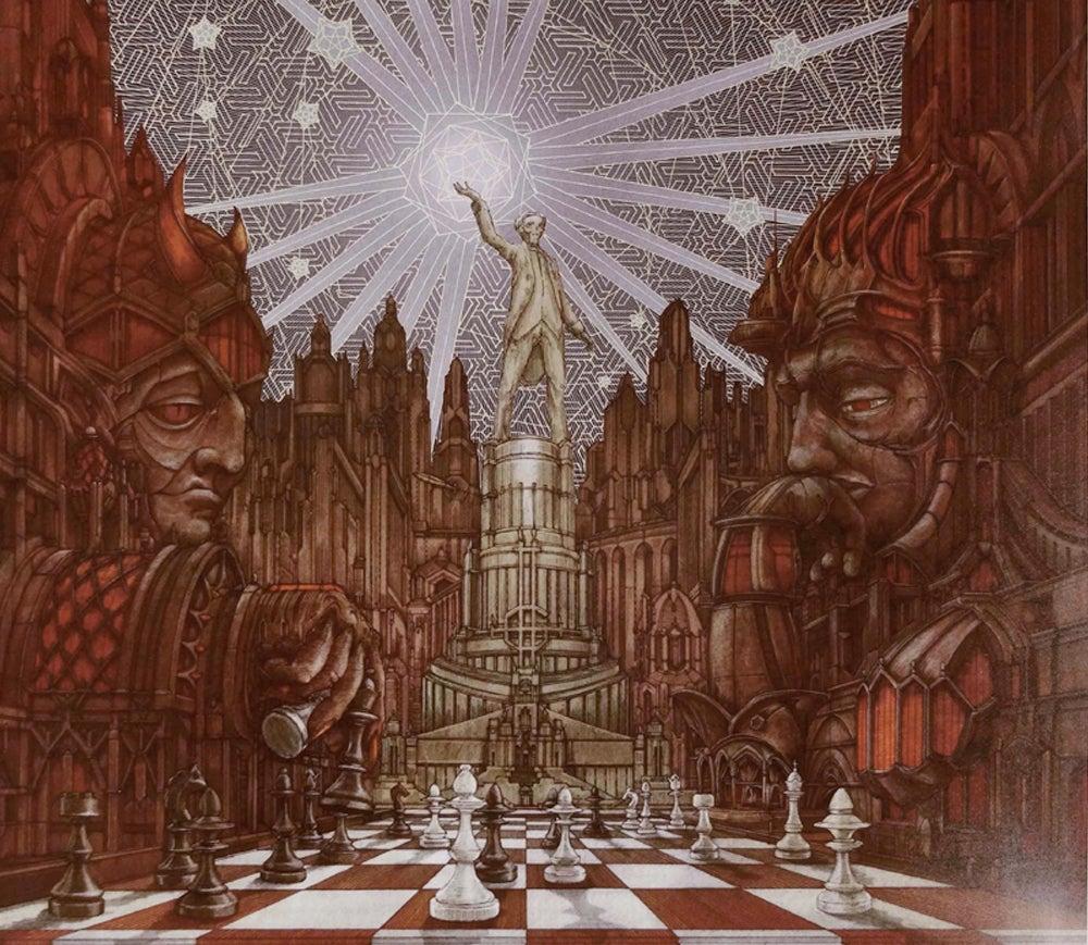 Image of Ghost's Popestar EP artprint