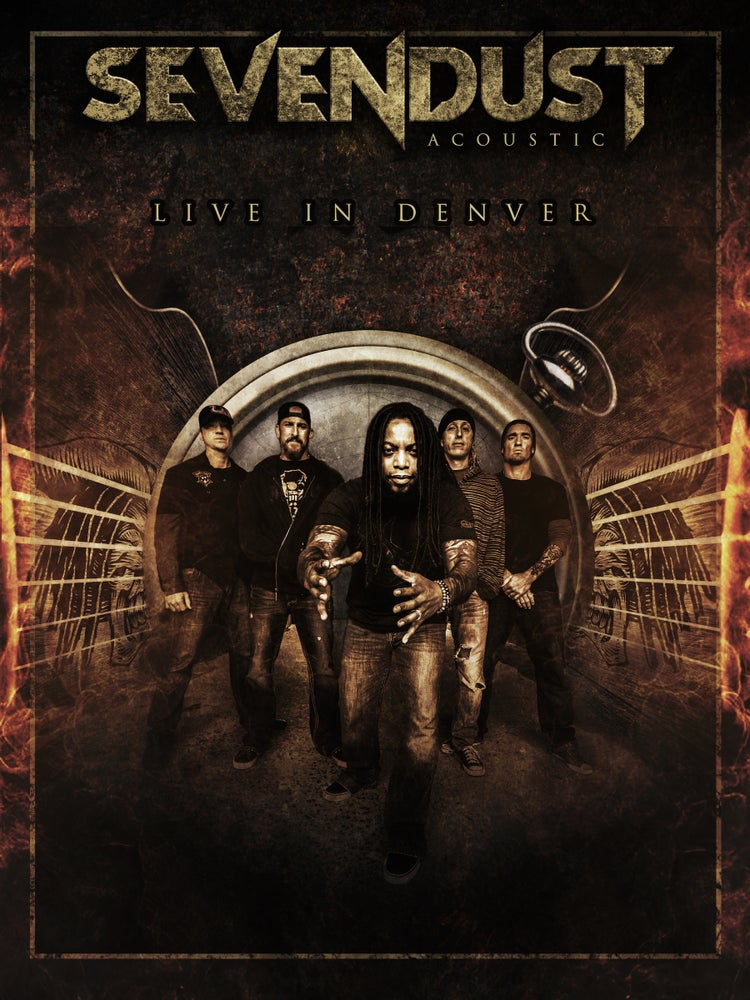 Image of SEVENDUST - LIVE IN DENVER (DVD)
