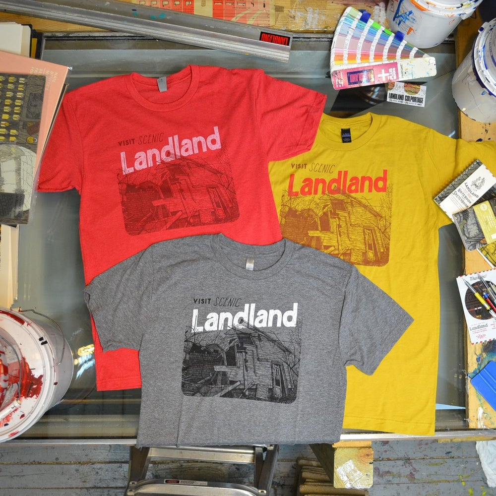 "Image of NEW ""Visit Scenic Landland"" T-Shirts"