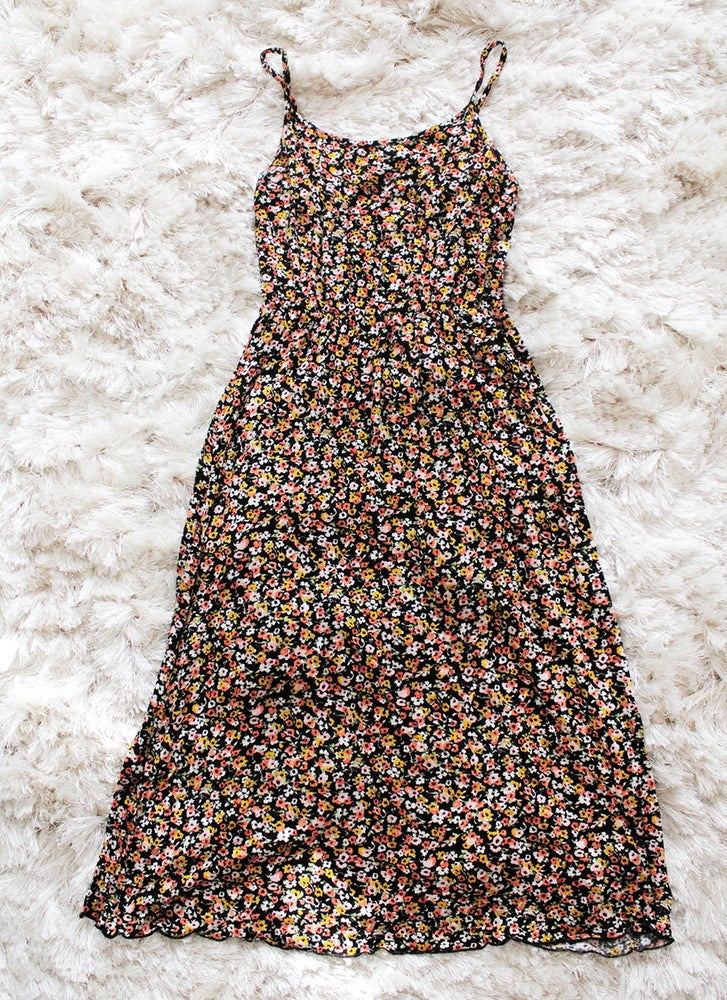 Image of Floral Midi Dress
