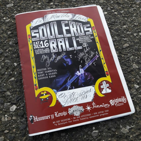 Image of SOULEROS BALL IX MAGAZINE - PRE-SALE!