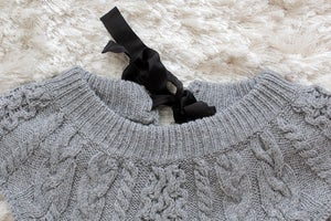 Image of Grey Free People Sweater Dress