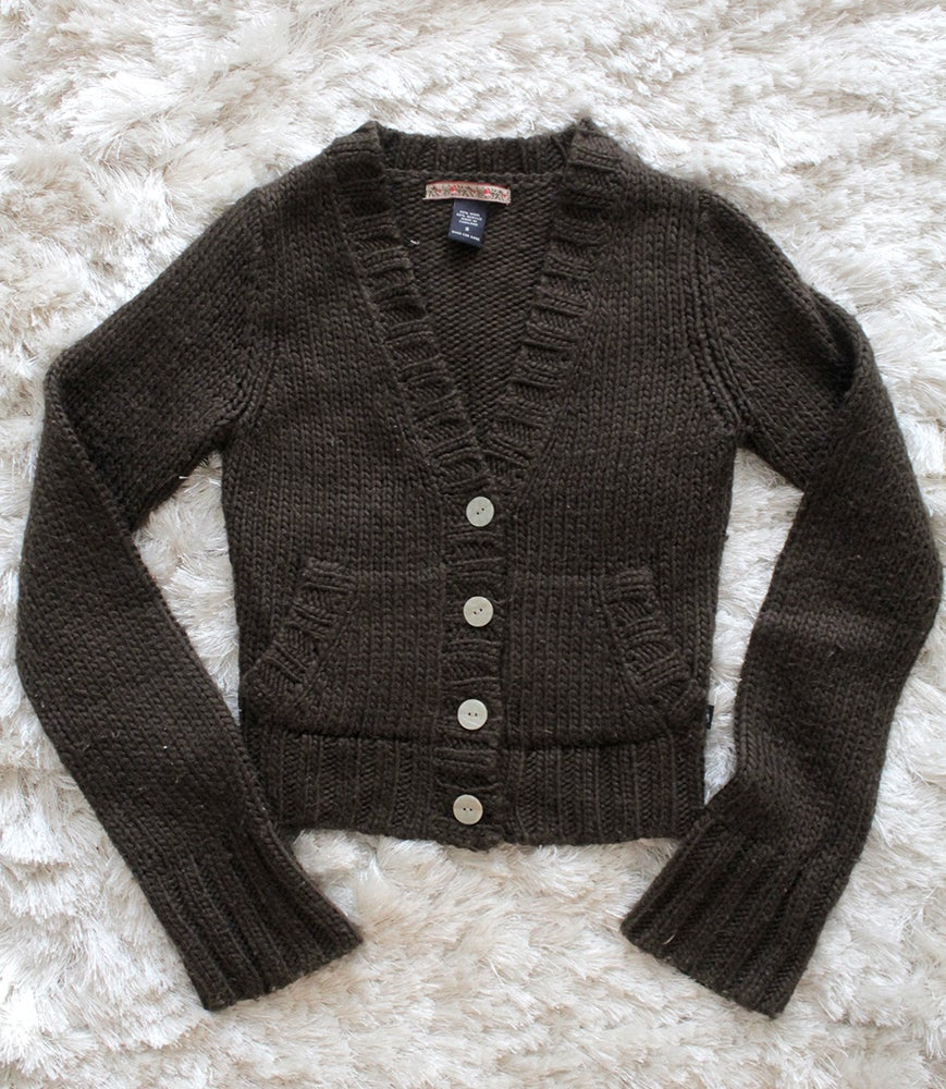 Image of Brown Sweater/Cardigan
