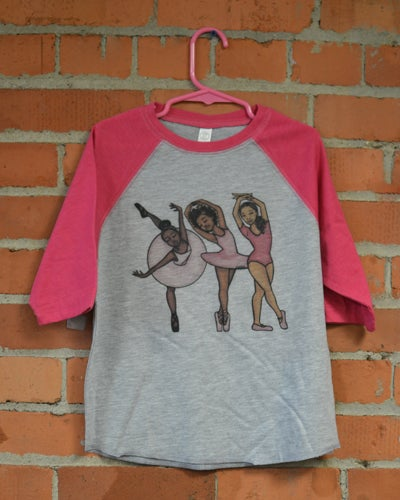 Image of Black Ballerina T-Shirt