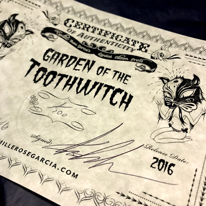 "Image of ""Garden of the Toothwitch"" Limited Edition Print"
