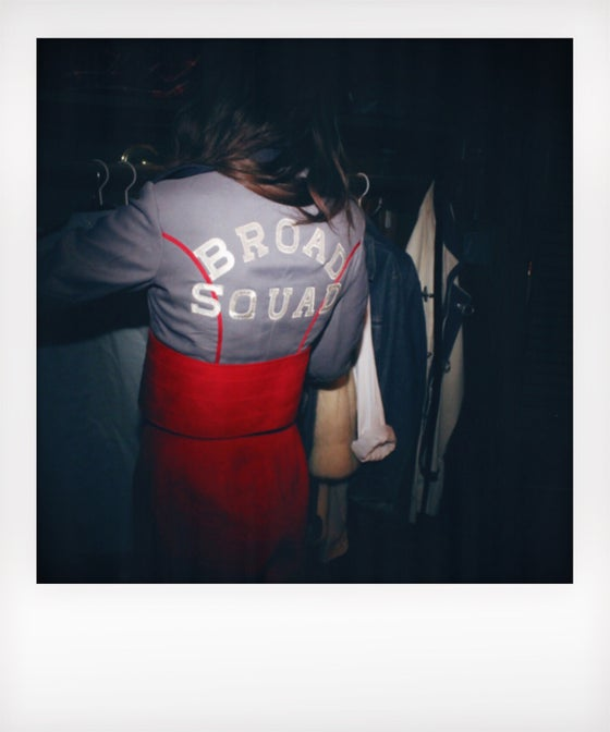 Image of BS Vintage Cropped Marching Band Jacket