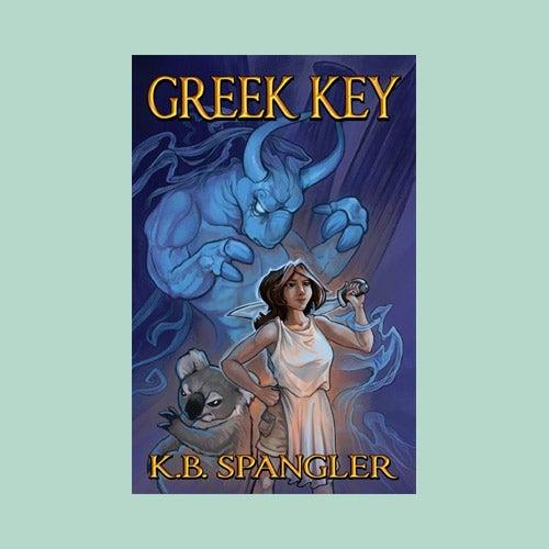 Image of Greek Key - signed copy