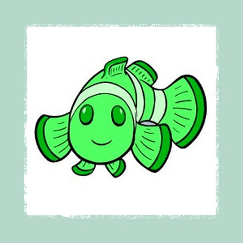 Image of Digital Clownfish Pin
