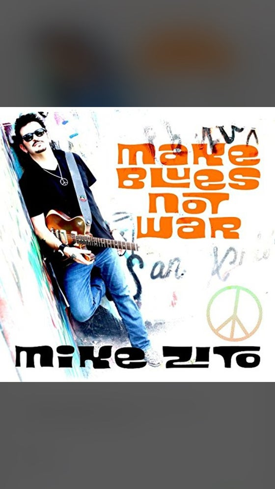 "Image of ""Make Blues Not War"" CD"