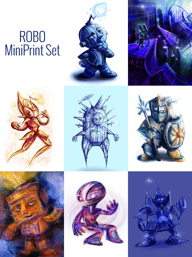 Image of Robo MiniPrint Set