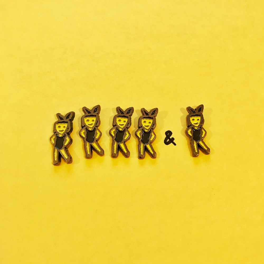 Image of Dancing Girls Emoji Pins