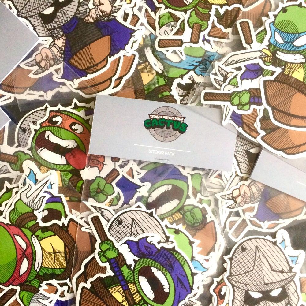 Image of TMNC Sticker Pack