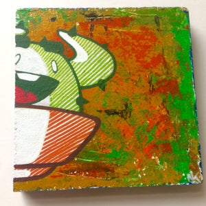 Image of 'Colorfuller' - CactusClan drawing on wood