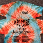 Image of Tour Tie Dye (Blue and Orange)