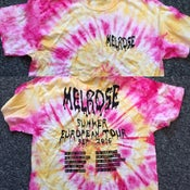 Image of Tour Tie Dye (Pink and Yellow)
