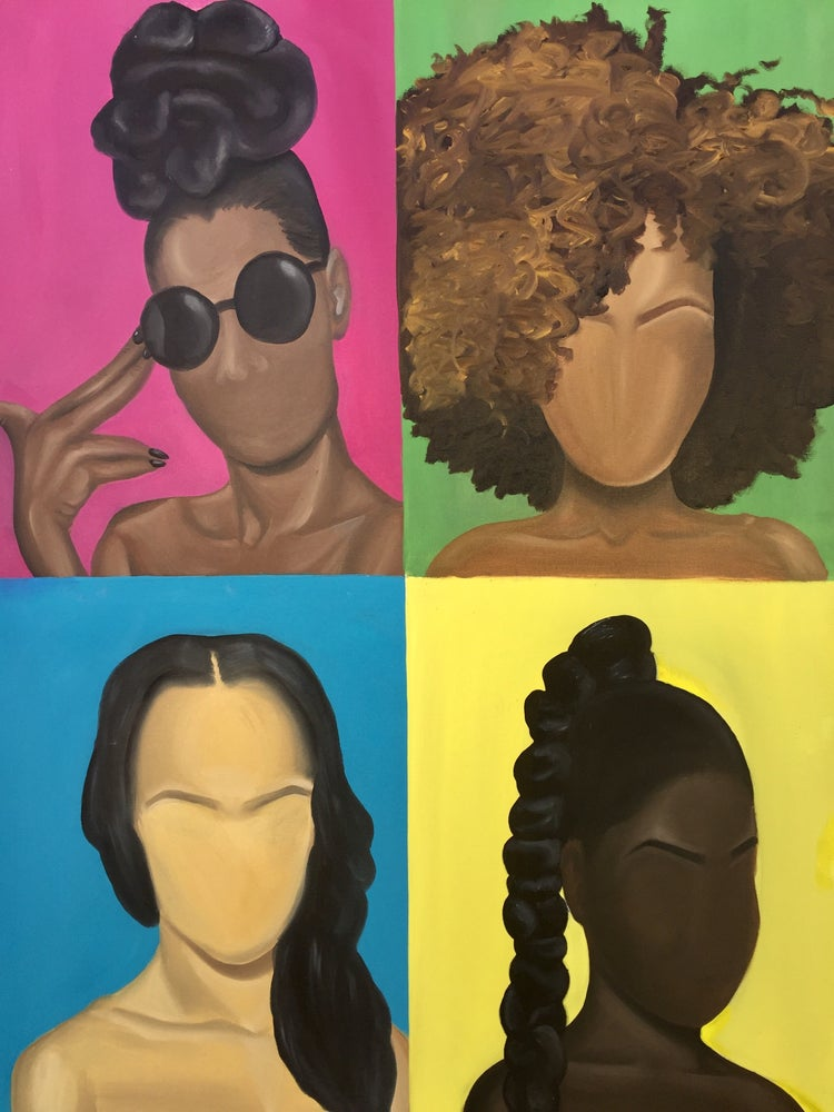 """Image of """"Four Colored Girls"""""""