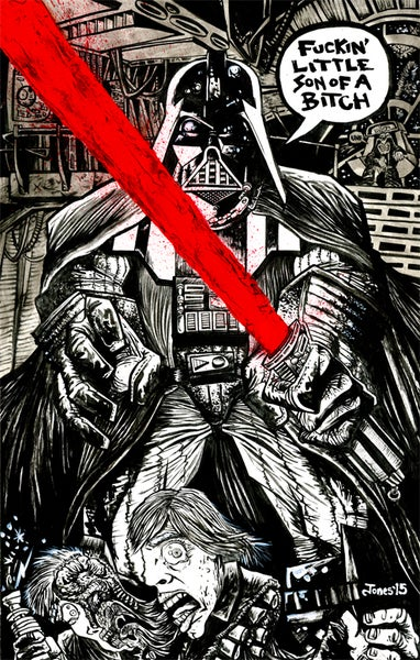 Image of 'Darth Vader Wins' Art Prints