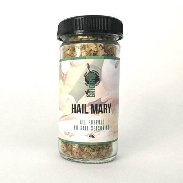 Image of HAIL MARY: Mrs. Gridiron All-Purpose Seasoning