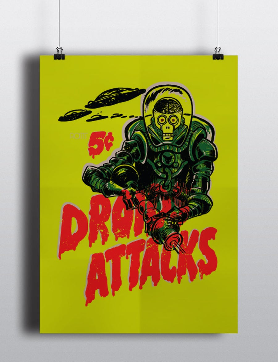 Image of Droids Attack Poster
