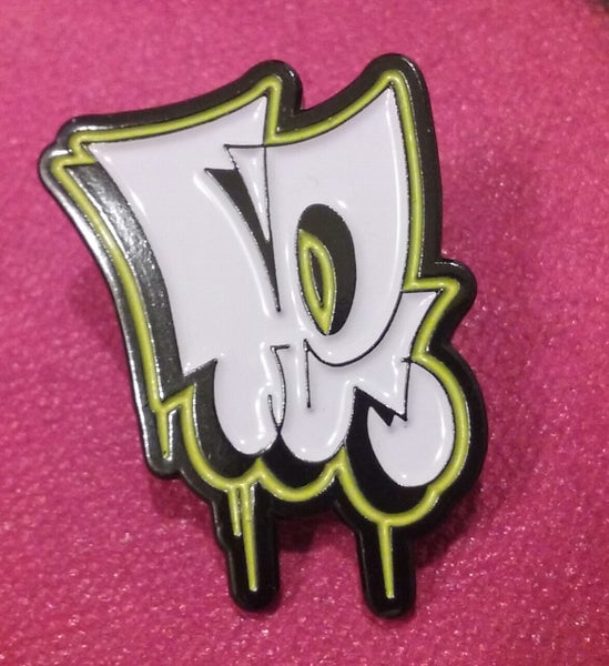 "Image of TEMPT Classic ""TE"" Throwie Lapel Pin"