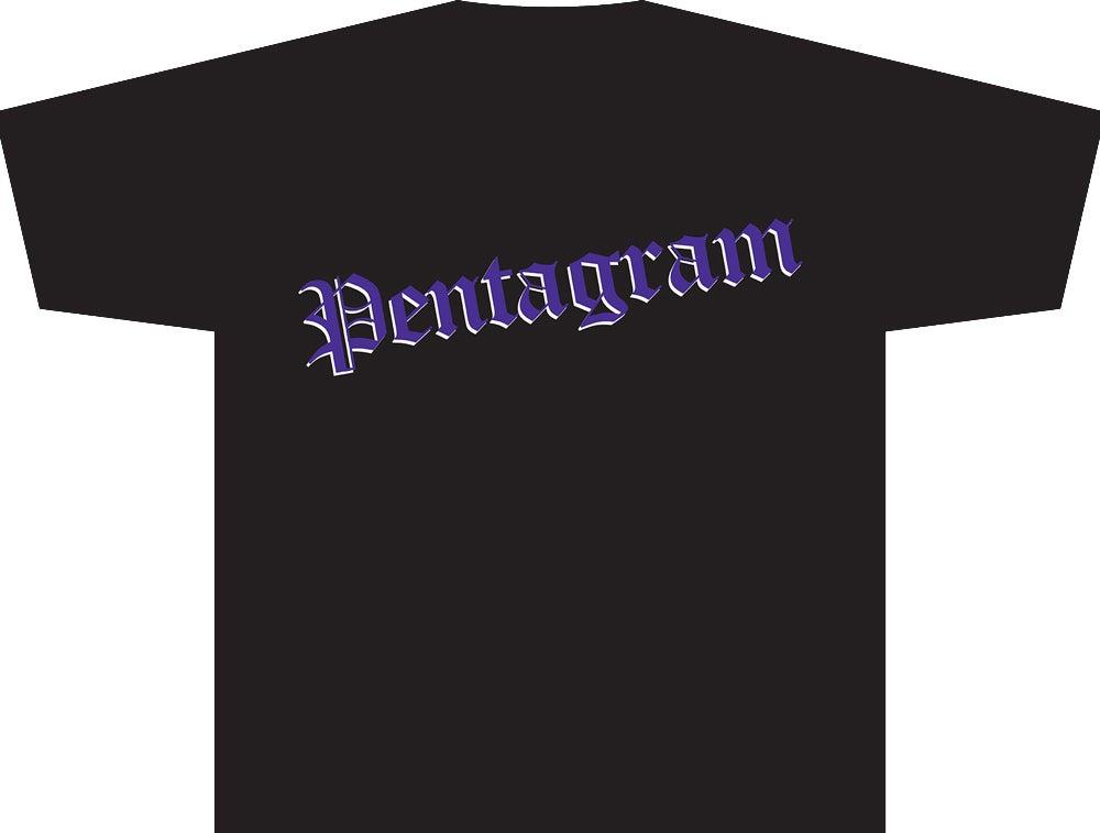 Image of Pentagram Original Self titled release logo Tee