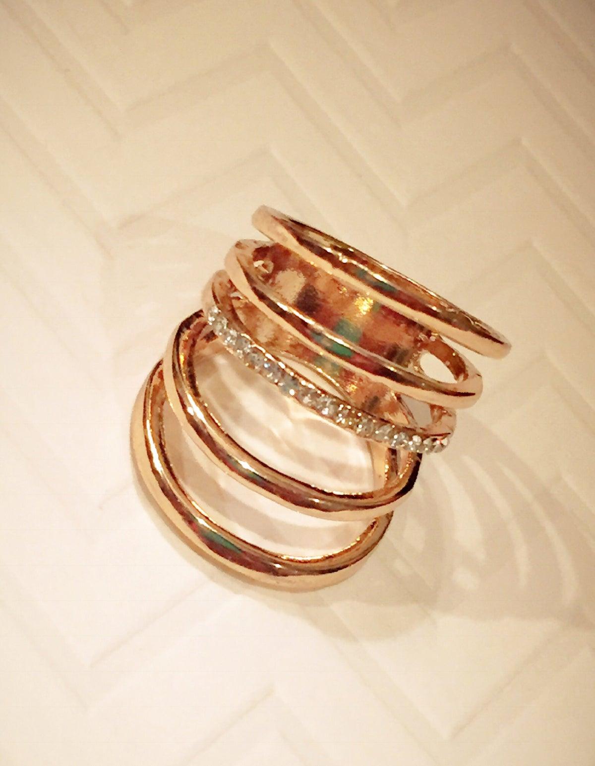Image of Layered Loop Ring