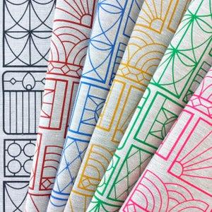 Image of Gates Tea Towel {assorted colours}
