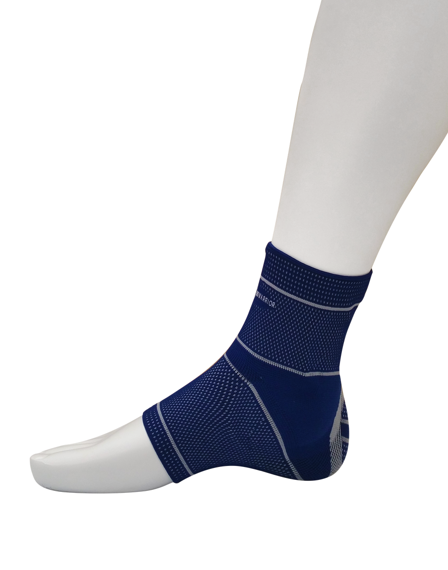 Image of 365Warrior Compression Ankle Sleeve with Silicone Insert