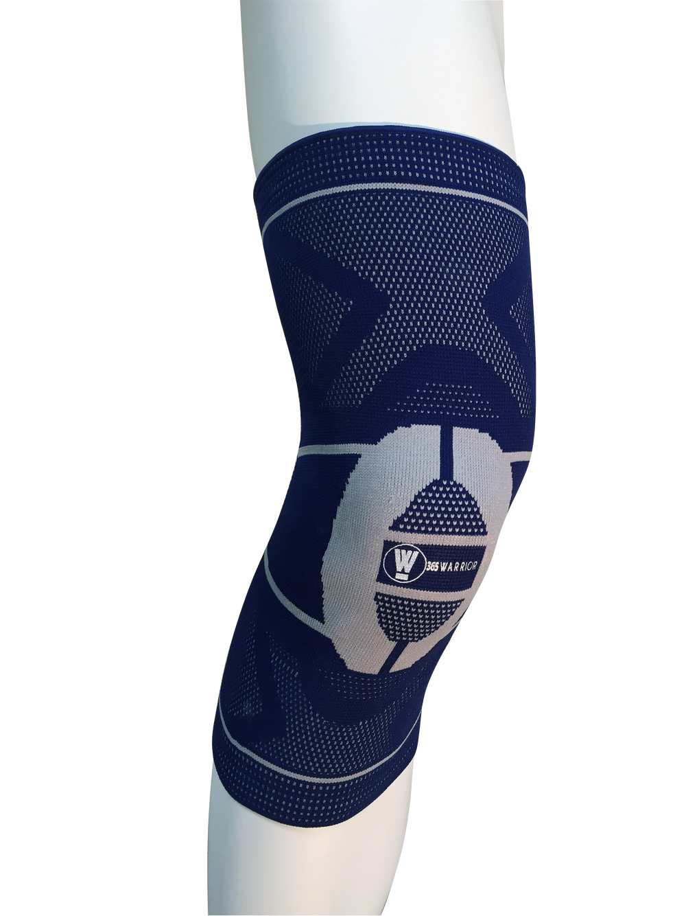 Image of 365Warrior Compression Knee Sleeve with Silicone Insert