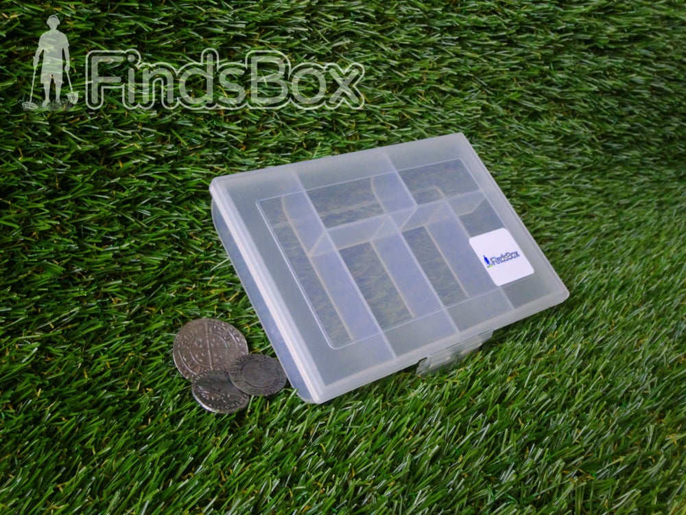 Image of Metal Detecting Gift -Six Space Plastic FindsBox