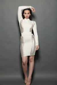 Image of Ballen dress winter white