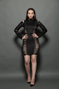 Image of Ballen black dress