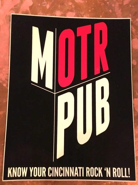 Image of MOTR classic sticker