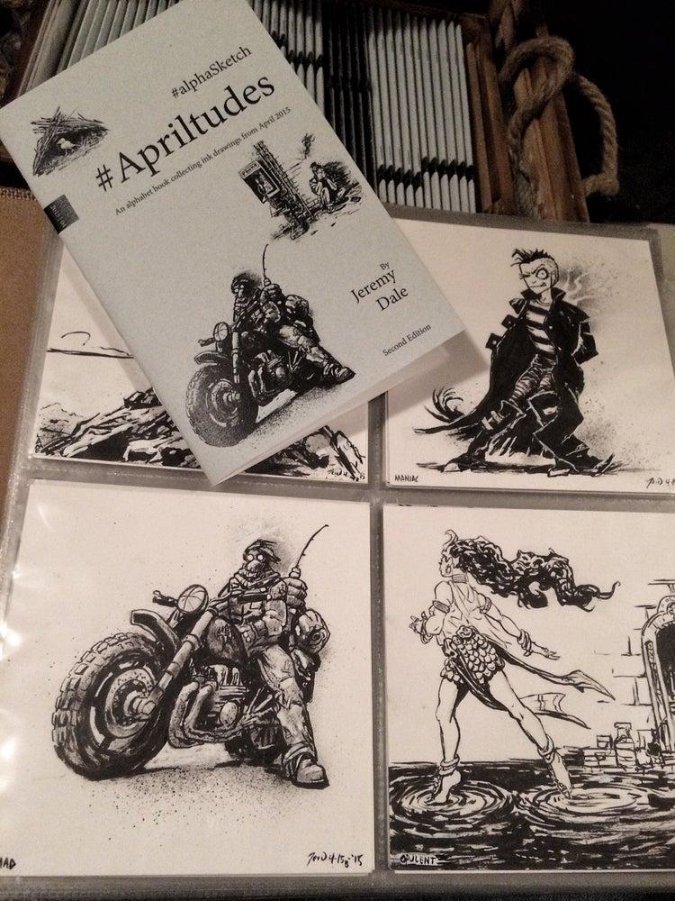 Image of Apriltudes #alphaSketch Books/Originals