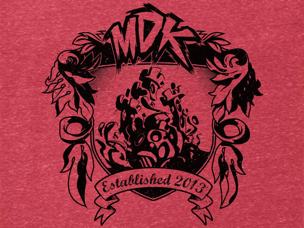 Image of MDK Est. 2013 Vintage Tee [Multiple Colors]