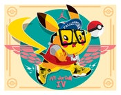 Image of Lightening Jay Pikachu by KWESTONE