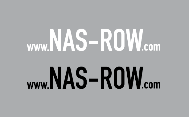 Image of NAS ROW DIE CUT WEBSITE DECAL SET